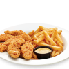 Chicken Strips With French Fries